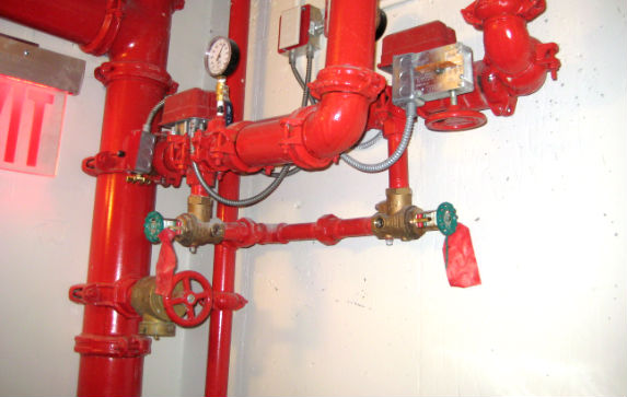 Hose stream for combined system (standpipe) - NFPA (fire) Code